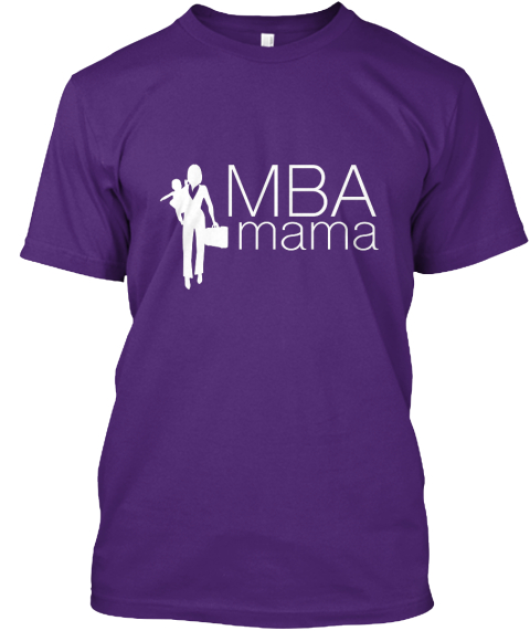 Mba Mama Holiday Season Swag Purple T-Shirt Front