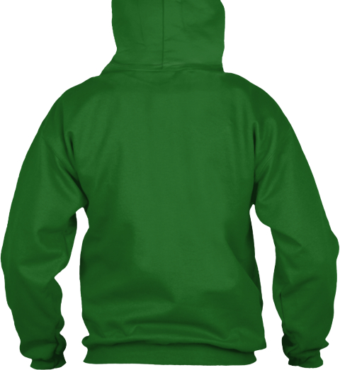Kiss Me I'm A Zellers  Legend Irish Green Sweatshirt Back