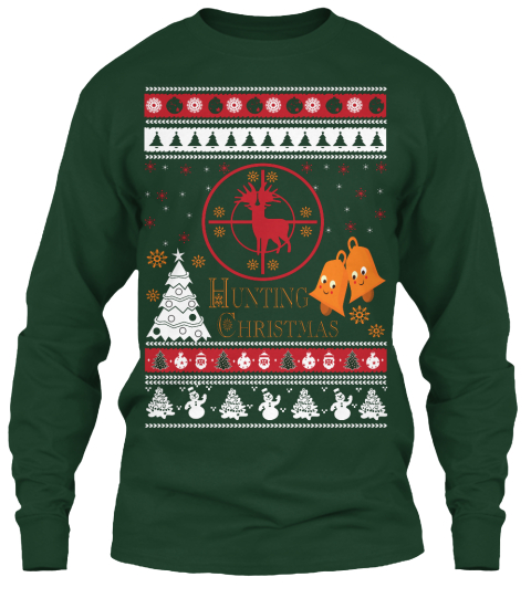 Deer Hunting Christmas Sweater - hunting Christmas Products from ...