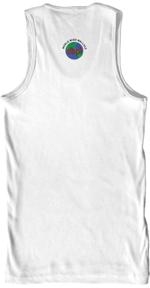 Dirt Bag Paddlers One Love One River White Tank Top Back