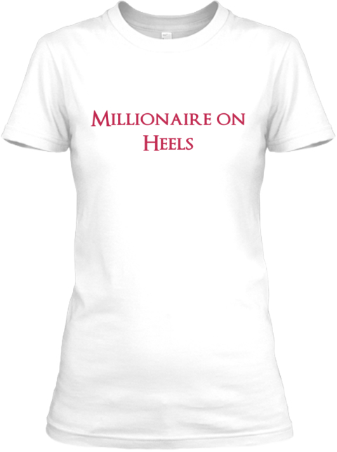 Millionaire on heels millionaire on heels products from for High end white t shirts