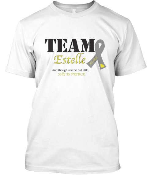 Team Estelle White T-Shirt Front