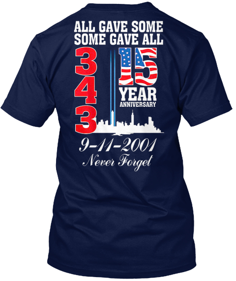 Special Edition Navy T-Shirt Back