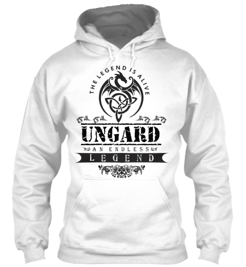 Ungard  White T-Shirt Front