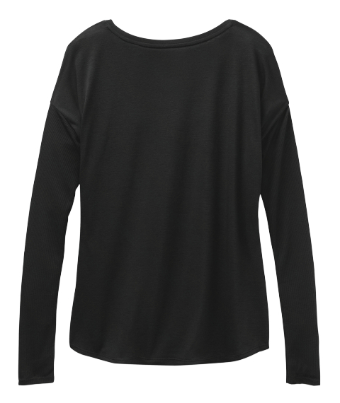 Capo Long Sleeve Black Long Sleeve T-Shirt Back