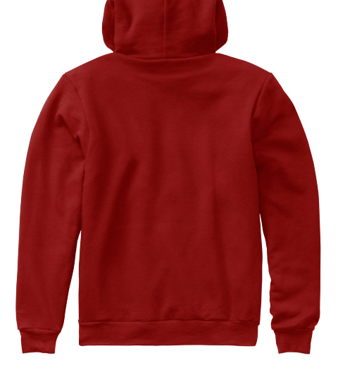 Goombay Tally Hoodie Cranberry  Sweatshirt Back