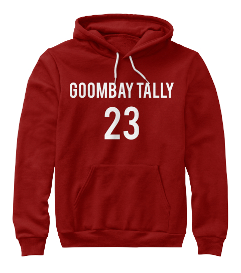 Goombay Tally 23 Cranberry Sweatshirt Front
