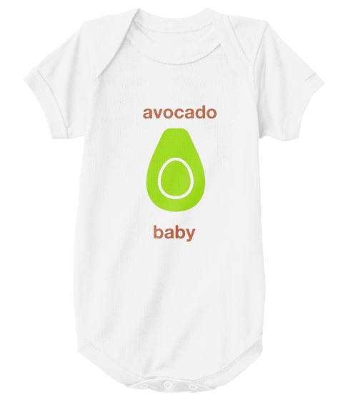 623d277d8 Avocado Baby Onesie - avocado baby Products from Avocado Lovers ...
