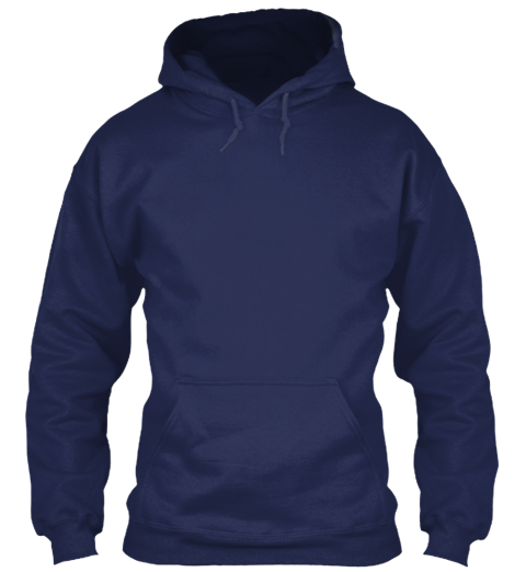 Forever The Title Fisherman Navy Sweatshirt Front