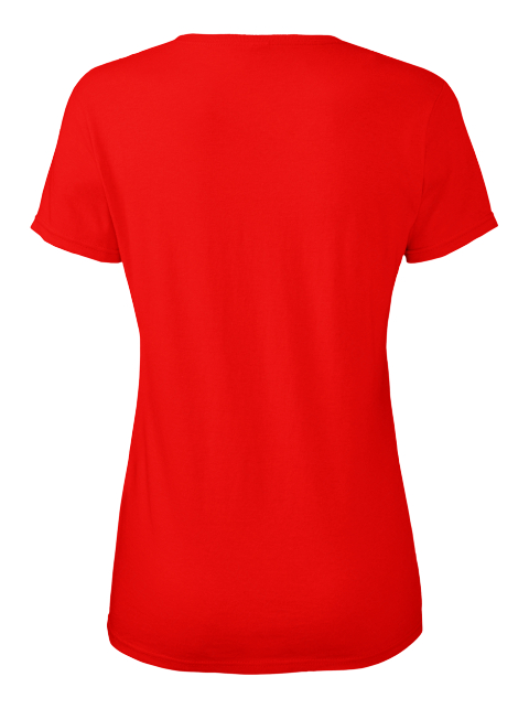Angel Red Women's T-Shirt Back