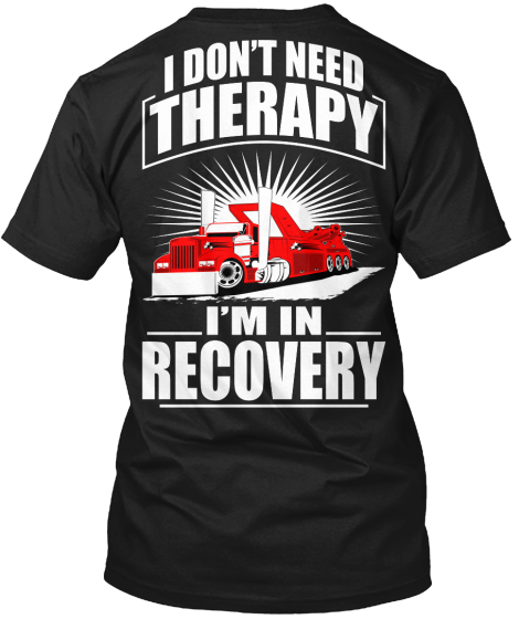 drug recovery t shirts