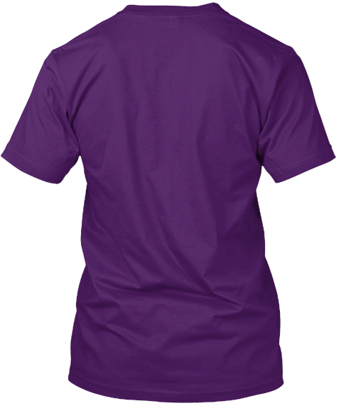 Anders Purple T-Shirt Back