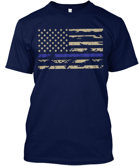 Law Enforcement Blue Line Flag T Shirts T Shirt From Mug