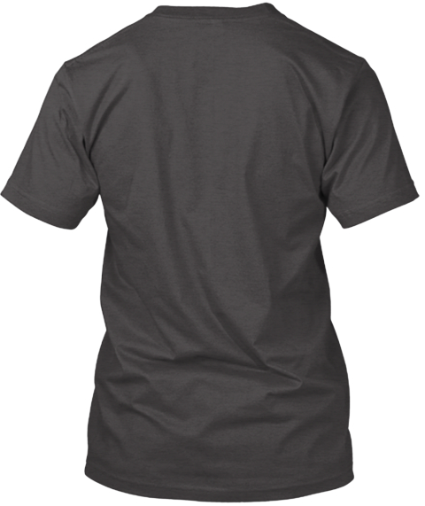 Extend Last Call Toronto Dark Grey Heather T-Shirt Back