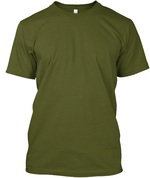 N/A Olive T-Shirt Front