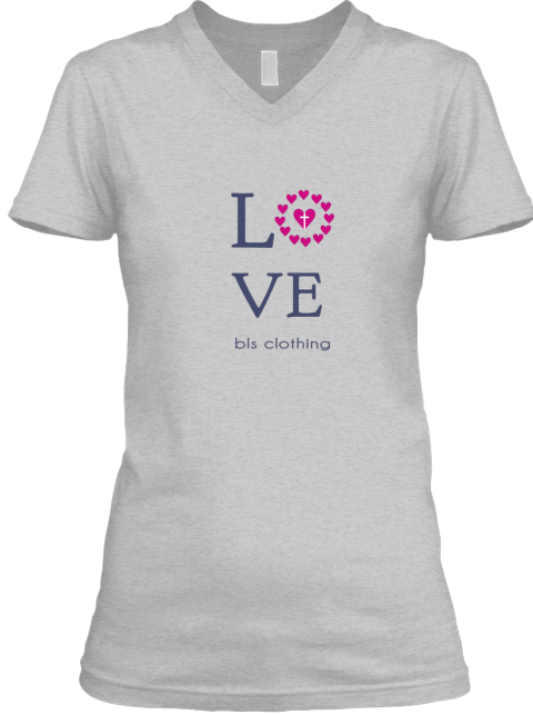 L V E Bls Clothing Sport Grey T-Shirt Front
