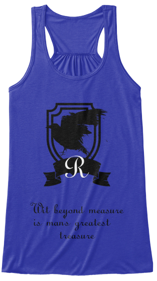 Wit  Beyond Measure Is Mans Greateat Treasure Women's Tank Top Front