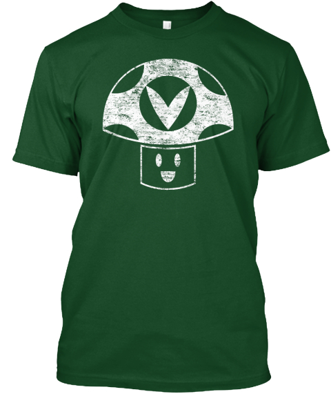 Vinesauce Vineshroom Deep Forest T-Shirt Front