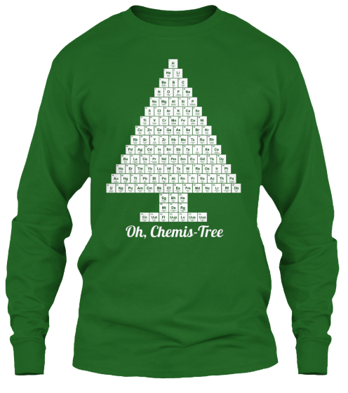 Oh, Chemis  Tree Long Sleeve T-Shirt Front