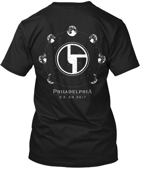 Bisco Philadelphia Black T-Shirt Back