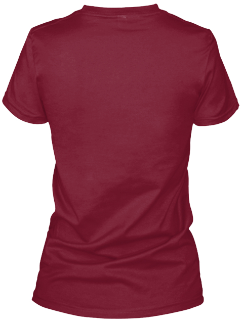 Anime Luver 5 Tee Cardinal Red T-Shirt Back