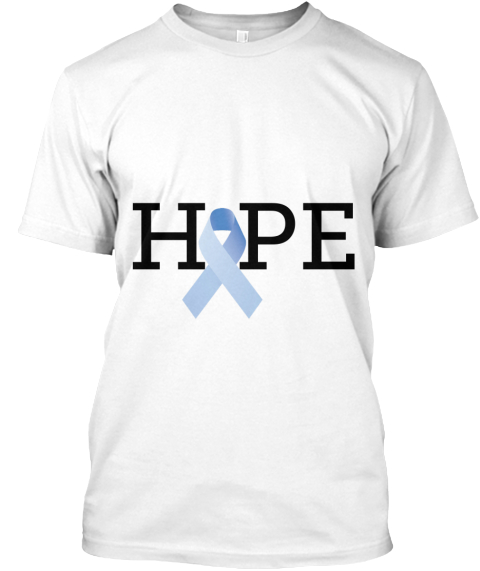 Hope White T-Shirt Front