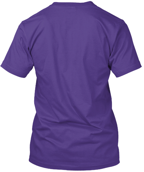 Shys Homeless Fund Purple T-Shirt Back