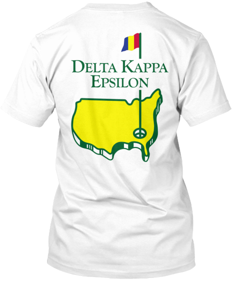 Delta Kappa  Epsilon T-Shirt Back