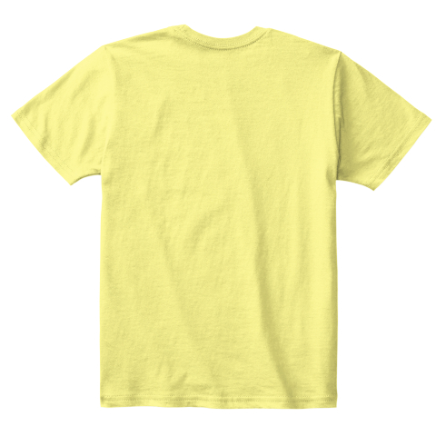Popsicle Kids Tee Lemon Yellow  T-Shirt Back