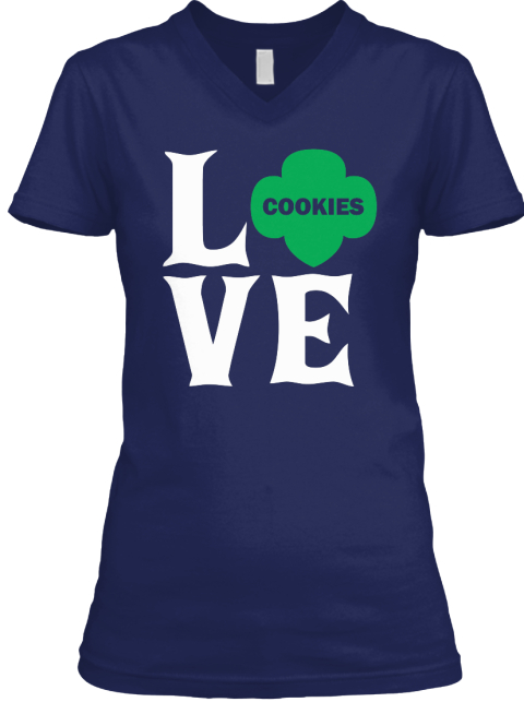 Scout   Love Navy T-Shirt Front