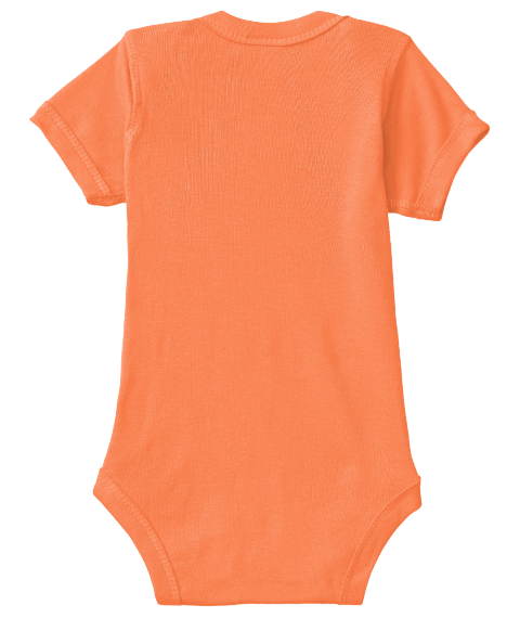 Lolly Onesie Orange T-Shirt Back