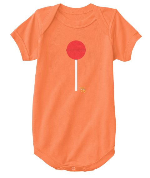Lolly Onesie Orange T-Shirt Front