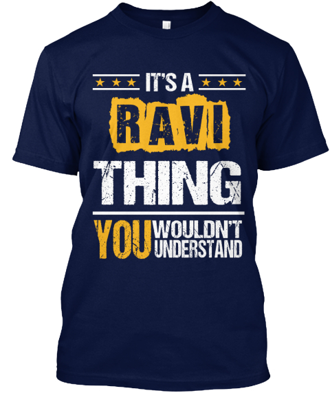 This Is Title Navy T-Shirt Front
