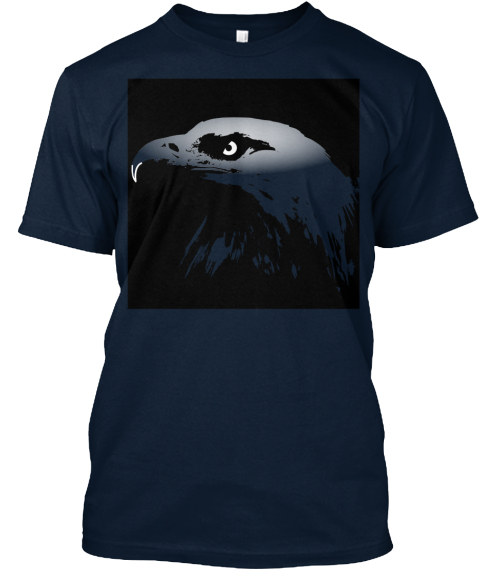 Eagle Tee New Navy T-Shirt Front