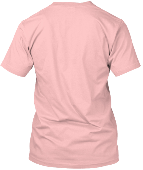 Beach, Please Pale Pink T-Shirt Back
