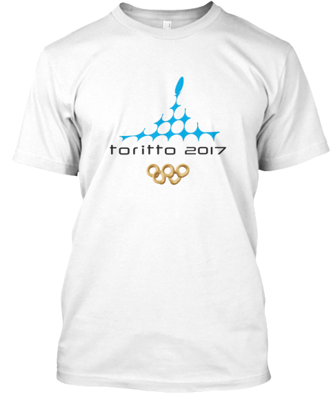 T Shirt Unisex / Tazze   Toritto 2016 White T-Shirt Front