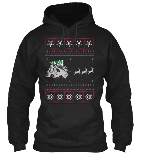 Jeep Ugly Christmas Hoodie Style Products from Christmas Big Sale ...