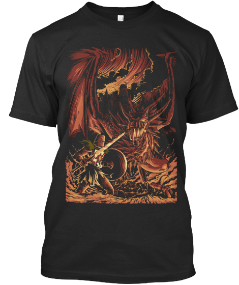 Wyvern's Wrath T-Shirt Front