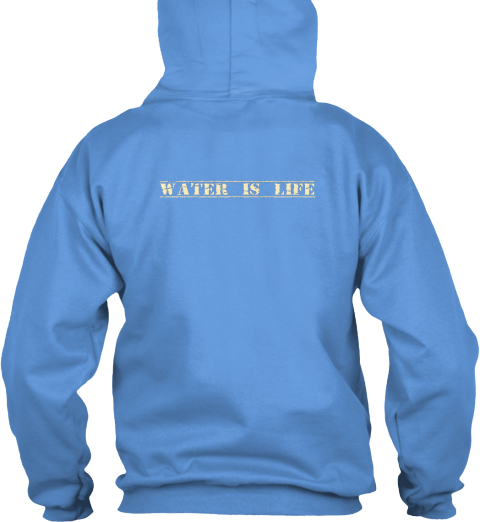 Water Is Life Carolina Blue Suéter Back