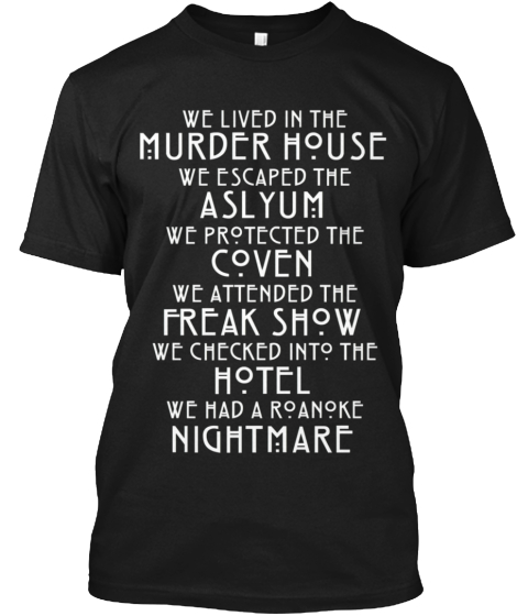 Horror t shirts unique horror apparel teespring for Custom t shirts roanoke va
