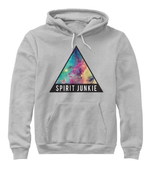 Spirit Junkie Athletic Heather Sweatshirt Front