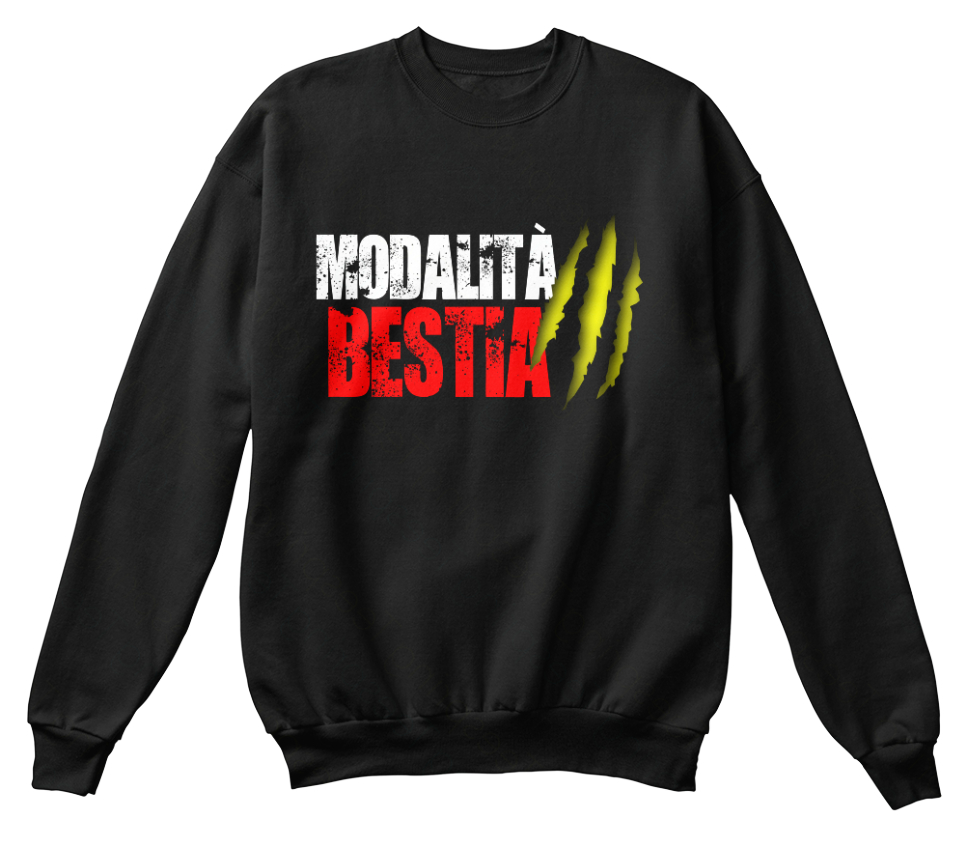 Modalita Bestia! Bestia! Bestia! - Bestia Standard Unisexe Sweat fadf13