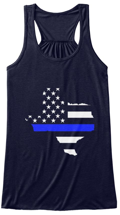 Texas thin blue line women 39 s tank top from thin blue line for Texas thin blue line shirt