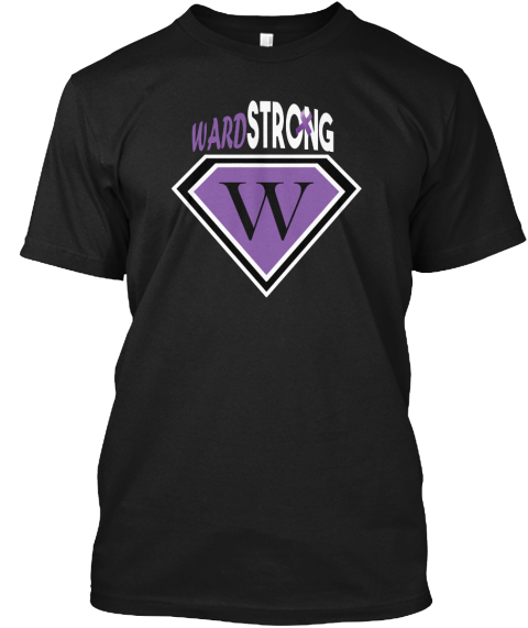 Ward Strong W Black T-Shirt Front