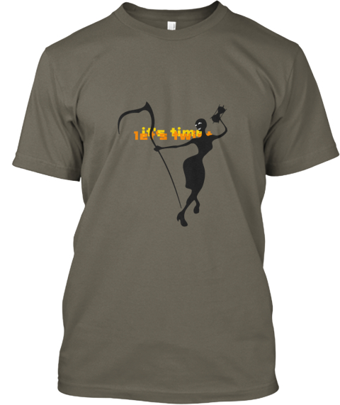 It's Time   Let's Twist Lieutenant T-Shirt Front