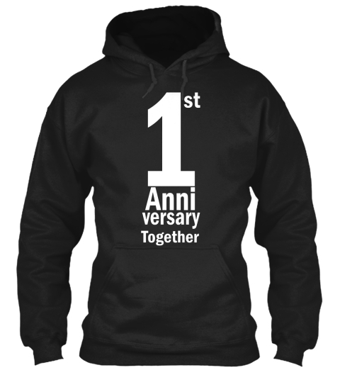 Limited Time Only Anniversary Hoodie  Black Sweatshirt Front