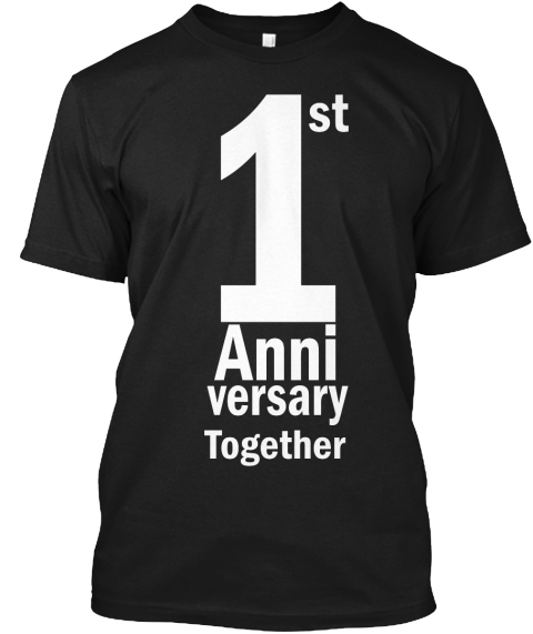 Celebrate Together Limited Time Only Black T-Shirt Front