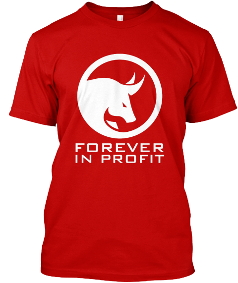 Forever In Profit Classic Red T-Shirt Front