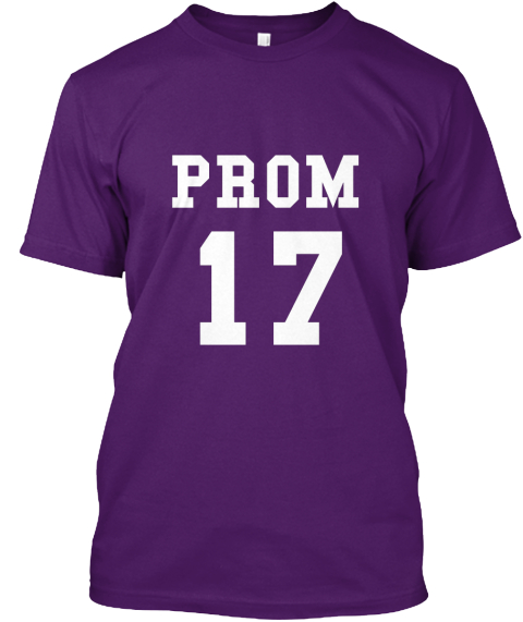 Prom 17 Purple T-Shirt Front