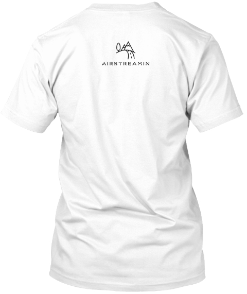 To Travel Is To Live White T-Shirt Back